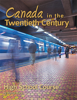 Book Cover of Canada in the 20th Century by Donna Ward