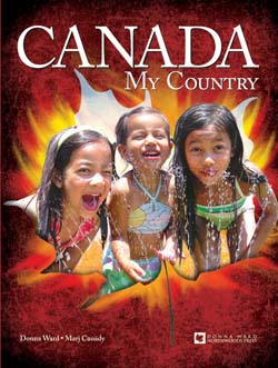 Book Cover of Canada, My Country by Donna Ward