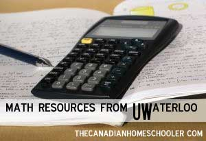 CEMC - Math from UWaterloo