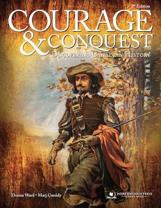 Book Cover of Courage & Conquest by Donna Ward