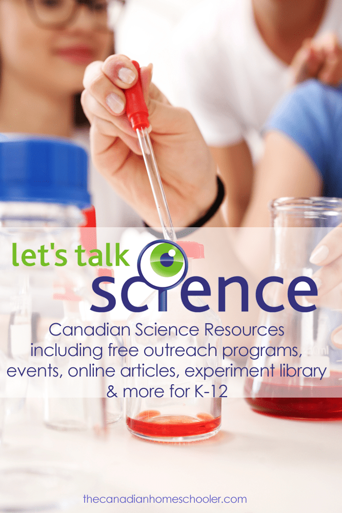 Let's Talk Science - Canada's Science Resource