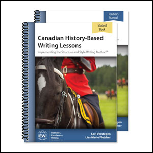 Canadian History - Based Writing Program from IEW