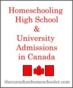 High School & University