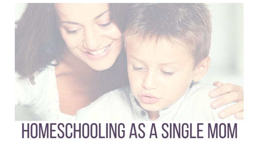 Homeschooling As A Single Mom