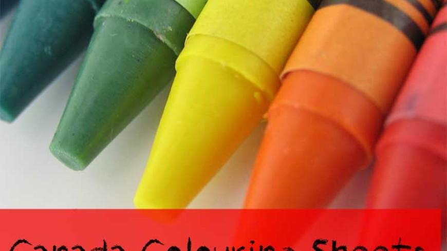 Canada Colouring Sheets