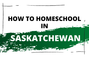 Homeschooling in Saskatchewan