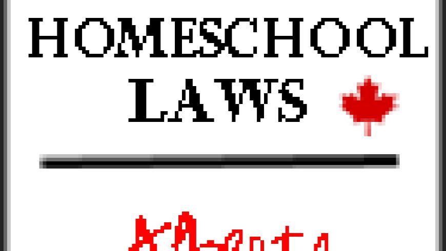Canadian Homeschool Laws: Alberta