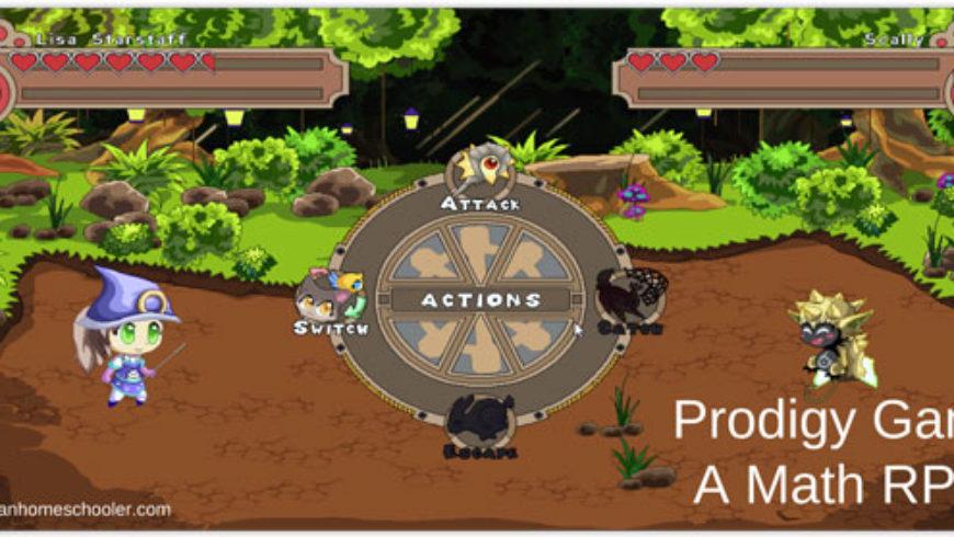 Prodigy – A Math RPG Game Where Math Meets Fantasy.