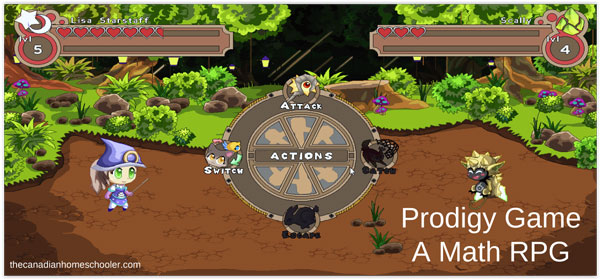 Prodigy Game : A Math RPG - Battle