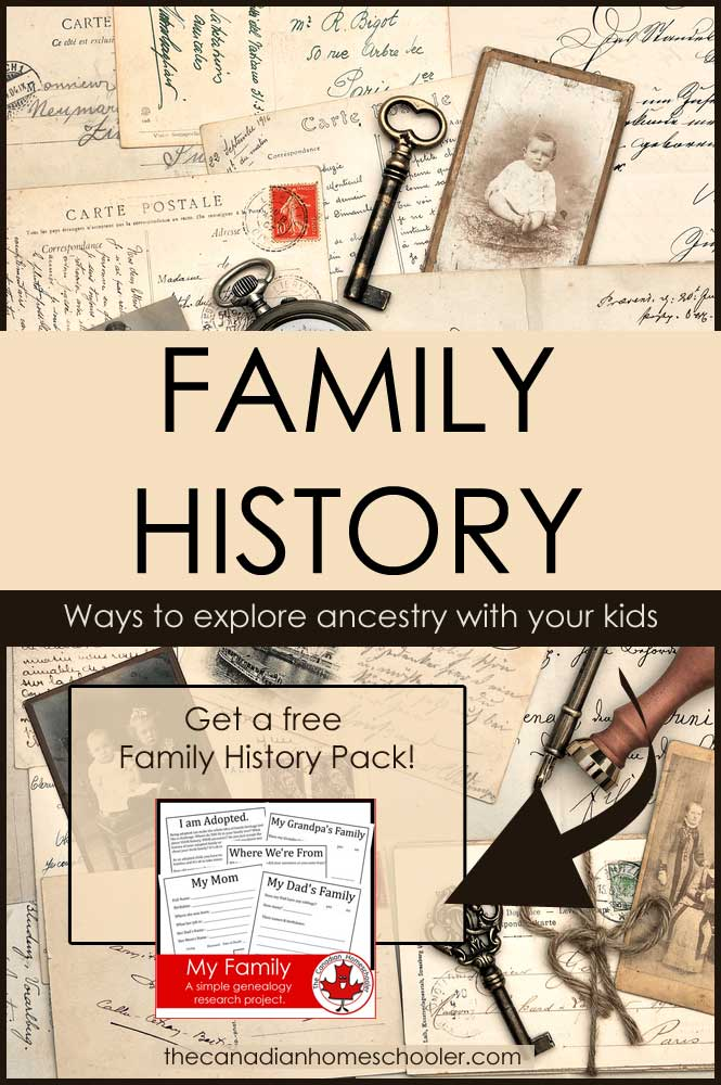 family history month activity ideas