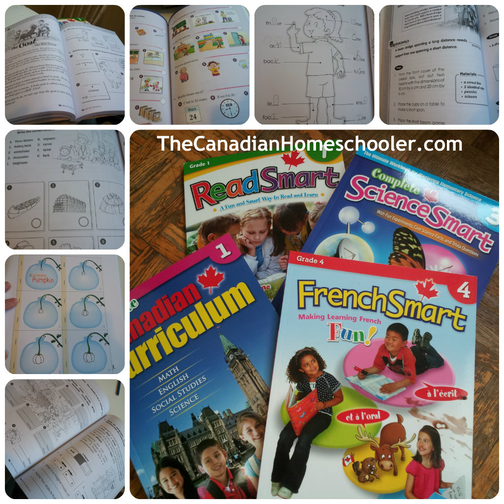 Canadian Curriculum ScienceSmart 4 A Grade 4 science workbook that includes activities and facts that expand students knowledge