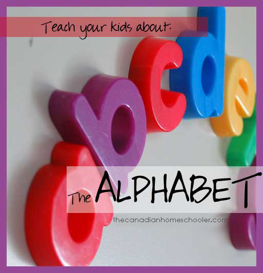 Teach Your Kid The Alphabet