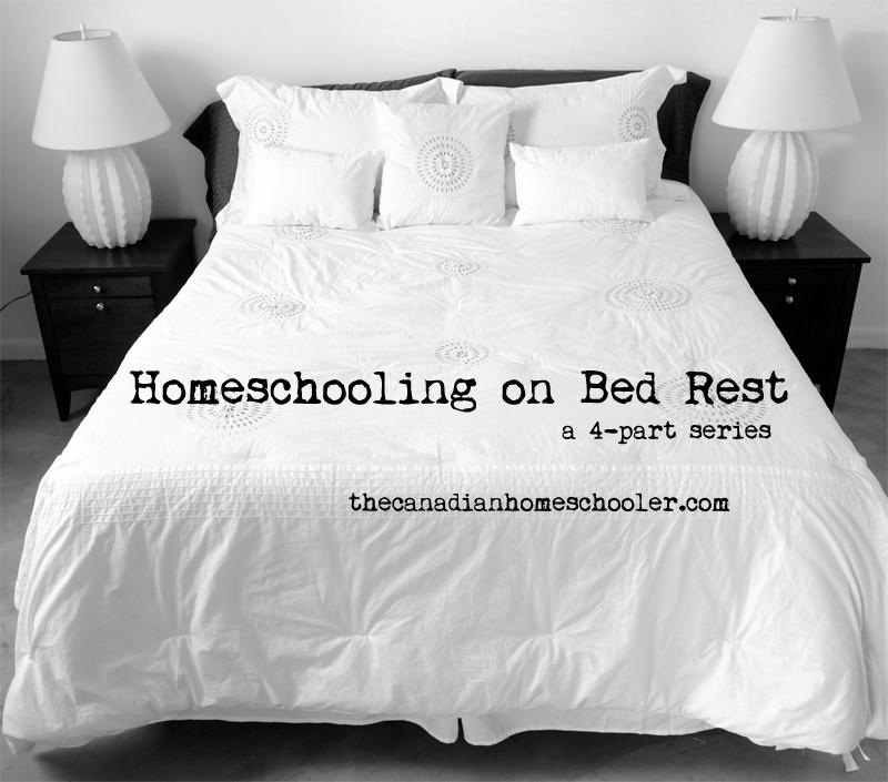 homeschoolingonbedrest