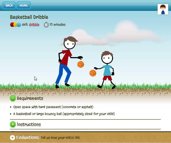 KidActive WebApp