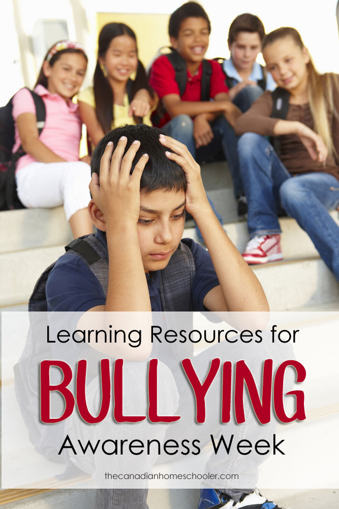 Learning Resources for Bullying Awareness Week in November