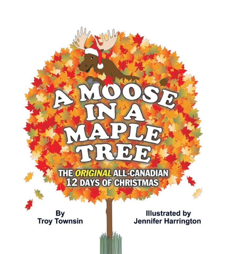 Moose in a Maple Tree