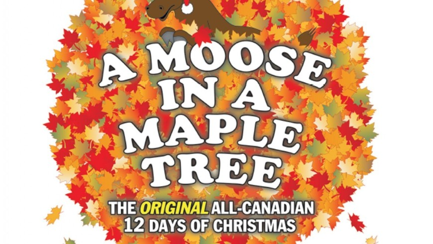 A Moose In A Maple Tree