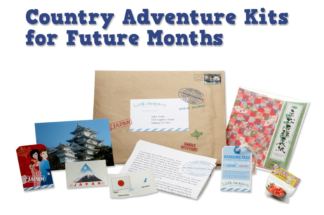 Little Passports Country Kit Sample