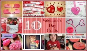 10 Valentines Day Crafts