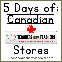 Canadian Teachers Pay Teachers Stores