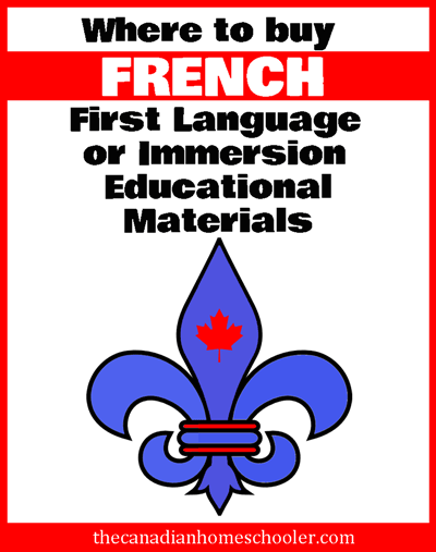 French Language Materials