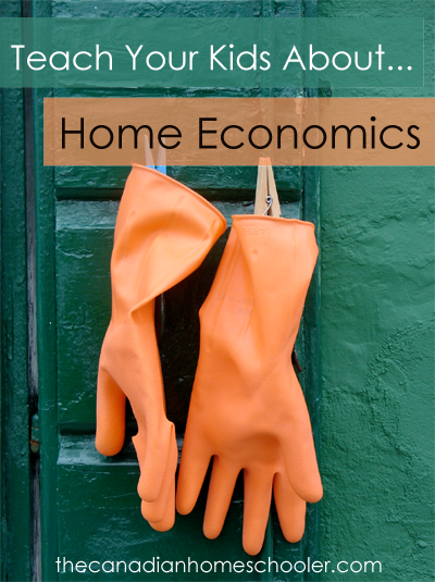 Teach Your Kids About ... Home Economics