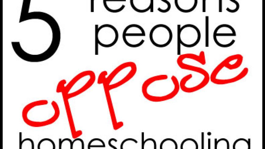 5 Reasons People Oppose Homeschooling