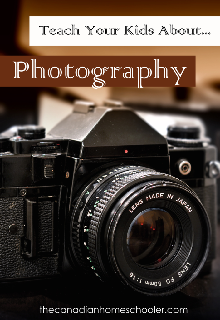 Resources to help you teach your kids about photography