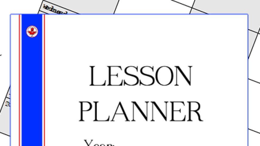 Lesson Planner {Printable}