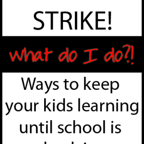 Activities for Learning While Teachers are on Strike