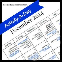 December Activity-A-Day