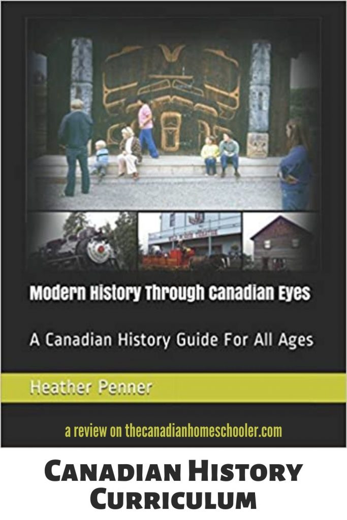 Book Cover of Modern History Through Canadian Eyes