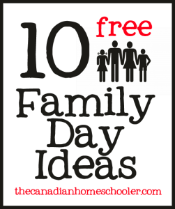 10 free fun family day ideas