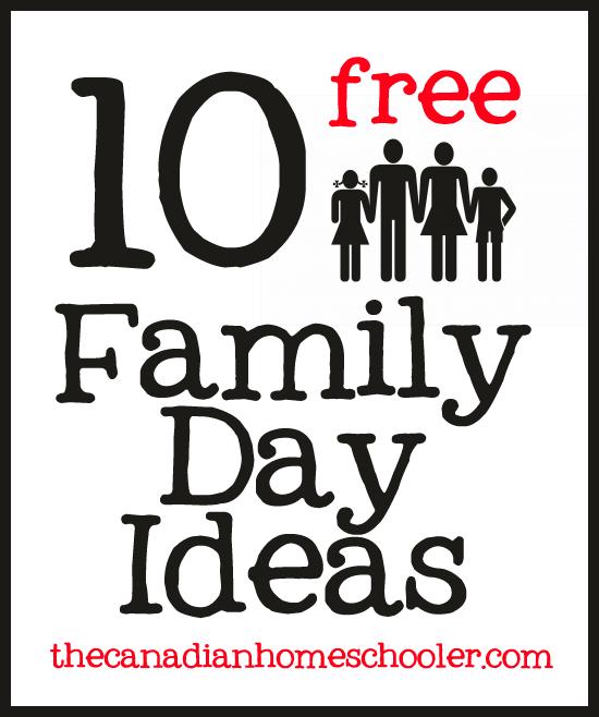10 free fun family day ideas