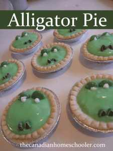 How to make your own Alligator Pie