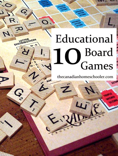 Trying to make learning more fun and hands-on? Why not play a board game? Here are 10+ great games to help your kids learning without them really even knowing it.