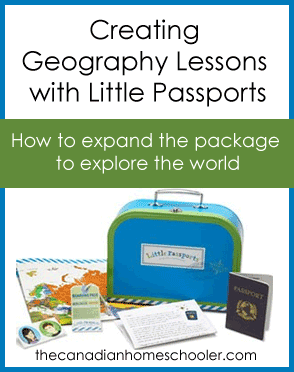 How to expand the Little Passports package into a whole geography program.