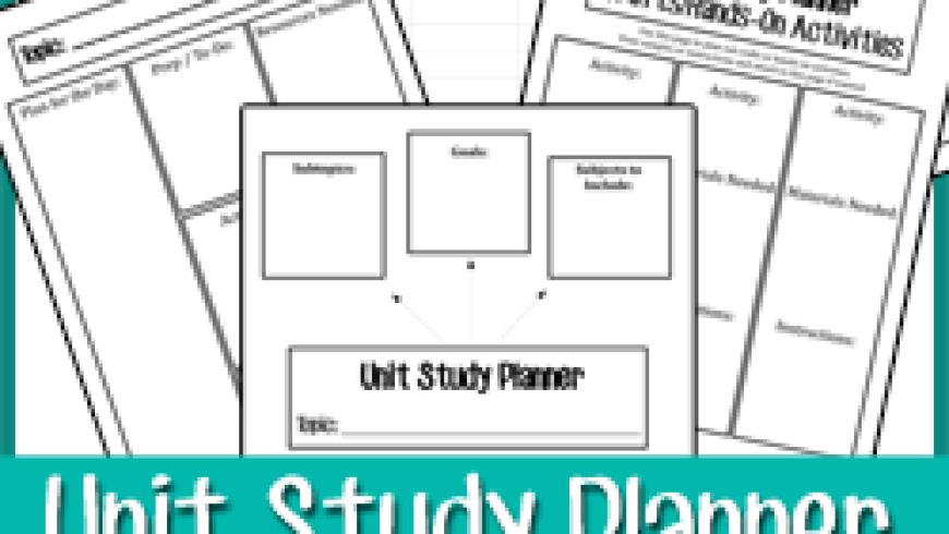 Creating Unit Studies {+Printable}