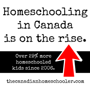 Homeschooling in Canada is on the rise