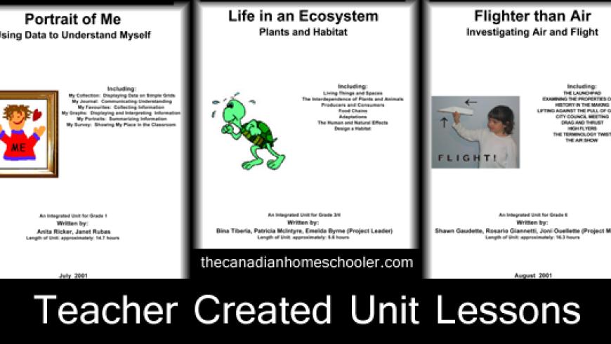 Curriculum Planner Units 1-8
