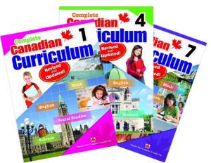 Complete Canadian Curriculum Books - Revised & Updated