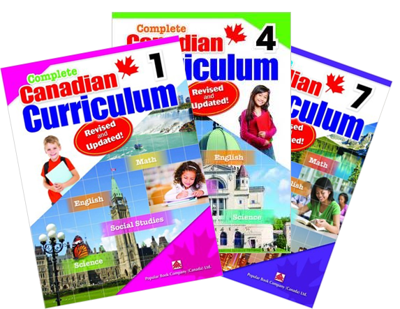 Complete Canadian Curriculum Books - Revised & Updated