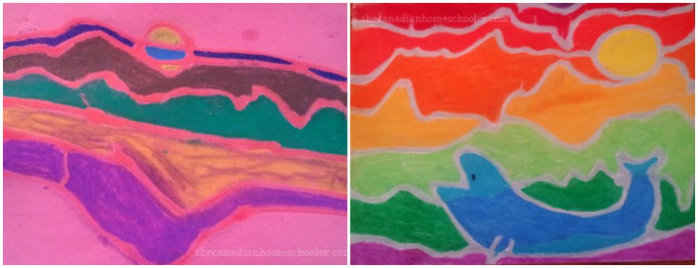 Ted Harrison Inspired Art Project - CrayolaTeachers.ca