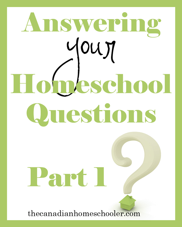I asked a group of non-homeschoolers what they wanted to know. Here are their questions and my answers.