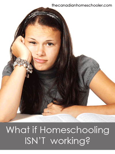 Homeschooling isn't working - What now?