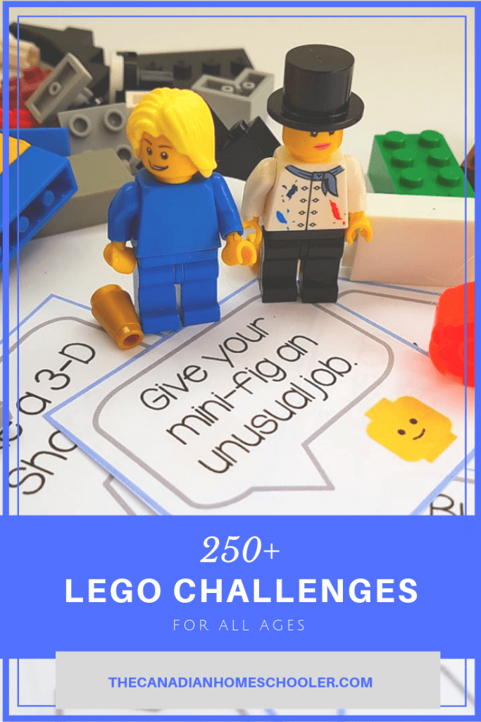LEGO Challenge Cards - Minifigures and Brick blocks