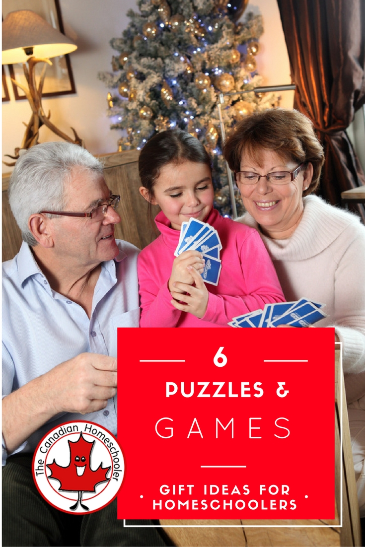 Gift Idea: Puzzles and Games