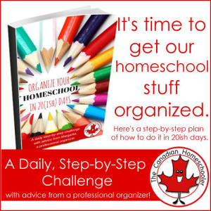 Organize your homeschool