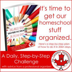 Organize your homeschool