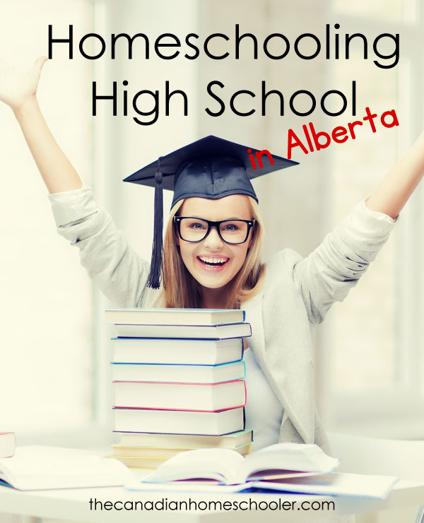 Homeschooling High School in Alberta